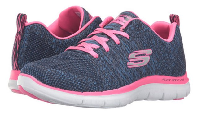 Knitted Sneakers Sketchers Womens