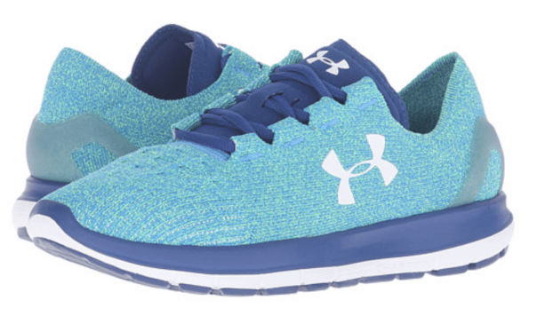 Knitted Sneakers, Under Armour Women Blue