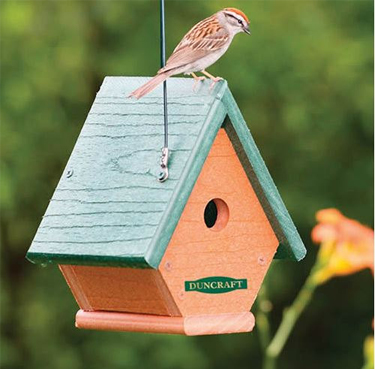 Eco Friendly Wren House