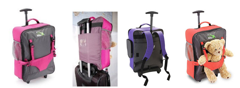 long distance travel roller suitcase/backpacks