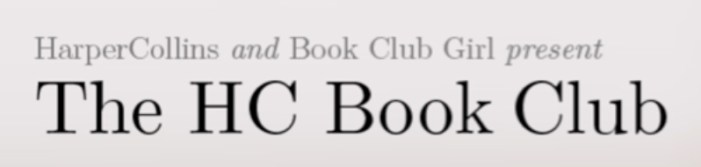 Harper Collins Book Club reading discussions