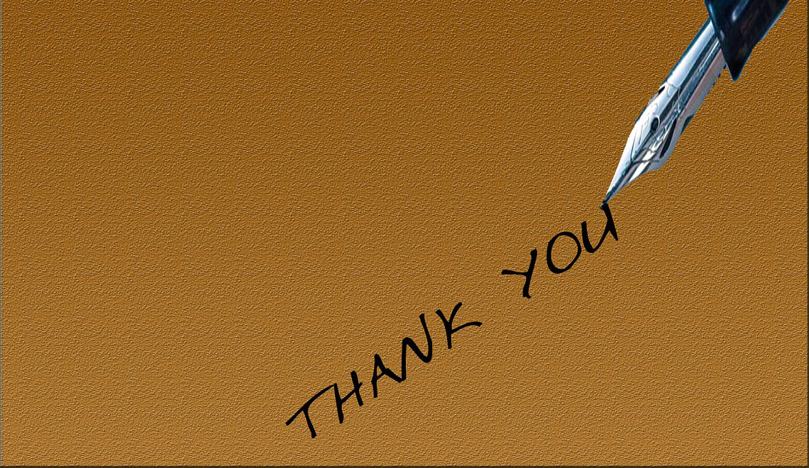 Write Your Own Thank You Notes