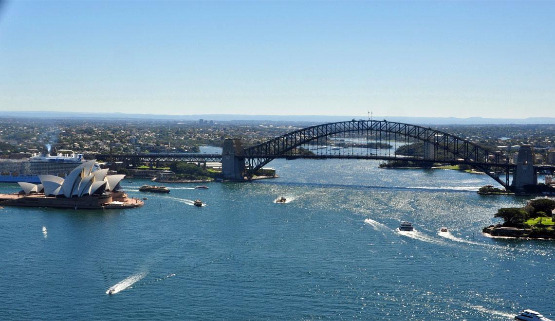 The Land Down Under – Australia, New Zealand and Tasmania
