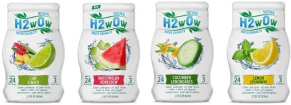 H2w0w Water Enhancers