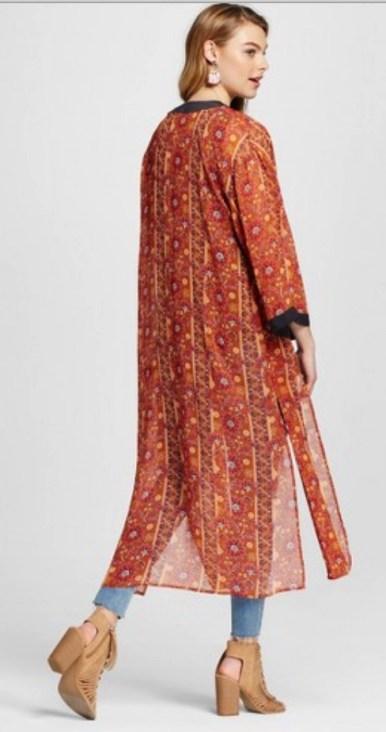 Target has kimono style