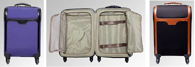 T. Anthony low tech carry-on suitcase