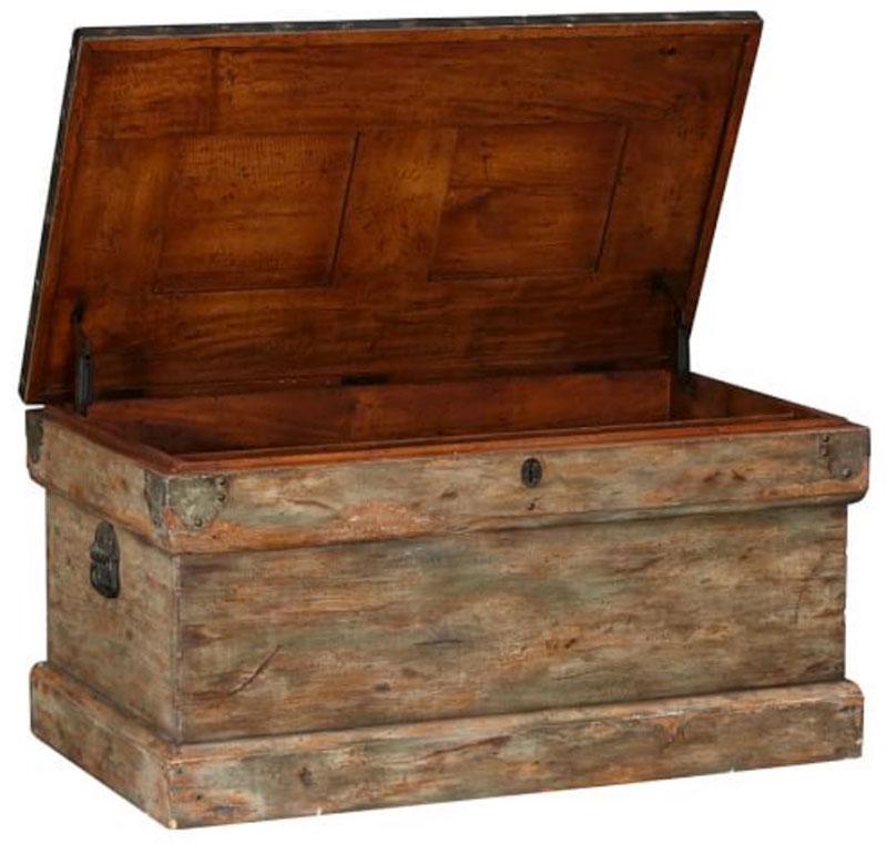 Multipurpose storage Amish hope chest