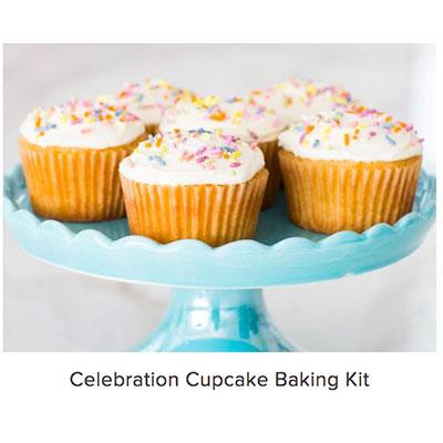 baking kits delivered, celebration cupcakes