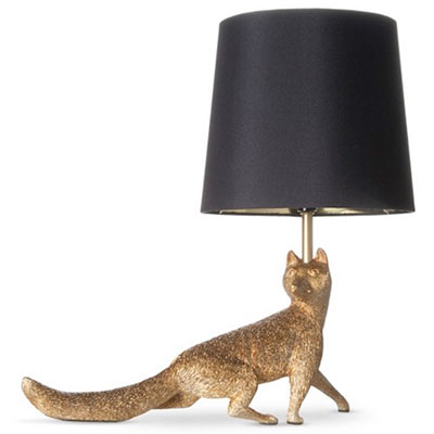 Whimsical creatures and animal table lamps are fun a for Funny lamps for sale