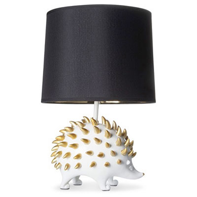 Hedgehog table lamp