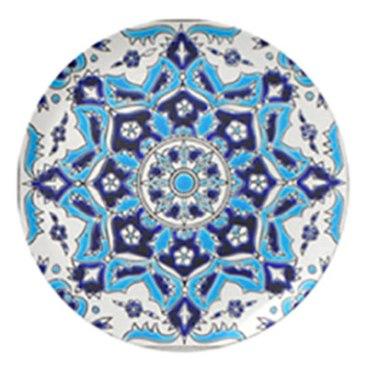 Turkish tile unbreakable melamine plates