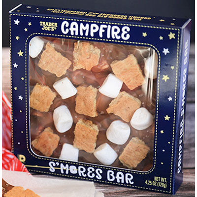 Campfire s'mores great summer snacks