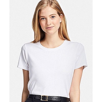 Uniqlo white t-shirts