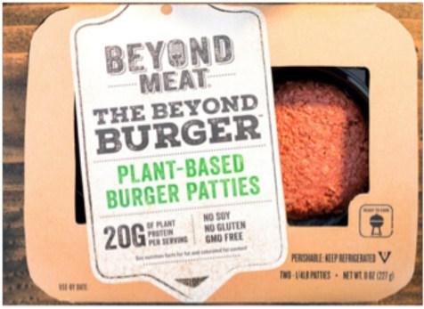 Beyond Beef future hamburger