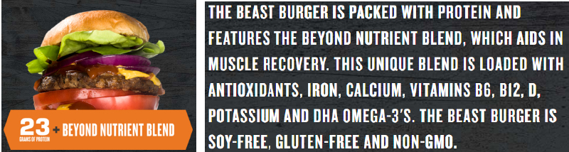 The Future Beast Burger