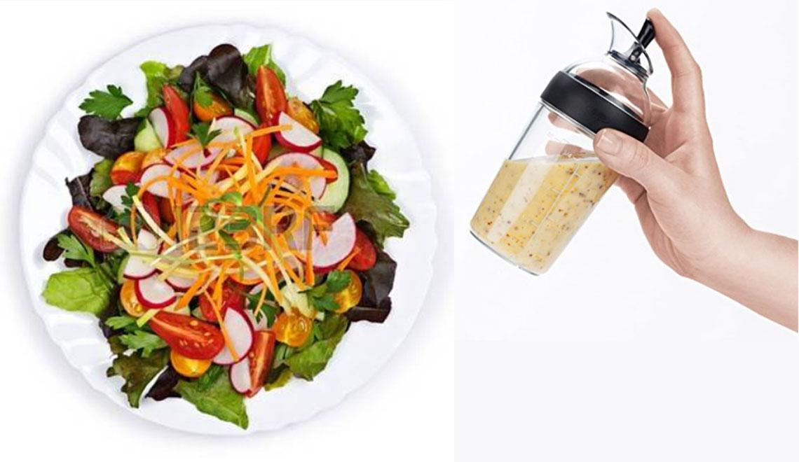 Salad Dressing Shakers