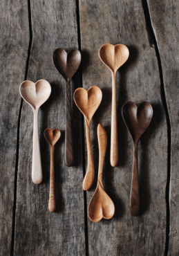 Valentine's Day Spoons