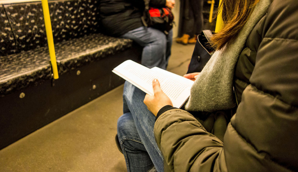 What do YOU Read on the Subway?