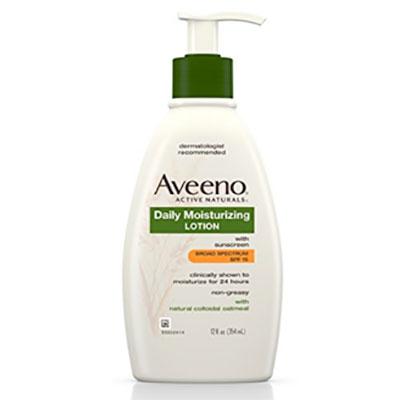 Skin cancer prevention Aveeno