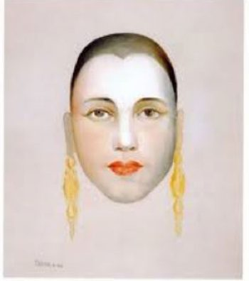Self-portrait, 1924 Tarsila do Amaral