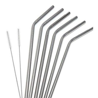 Flexible metal straws, surprising stocking stuffers