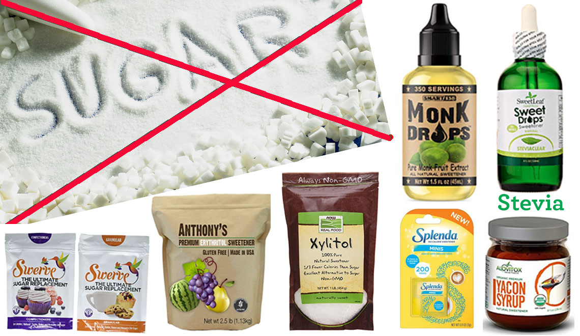 Alternatives to Sugar – Newest Sweeteners from Nature