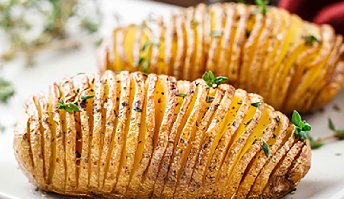 Hasselback Potatoes – the unexpected side