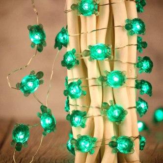 decorative turtle string party lights