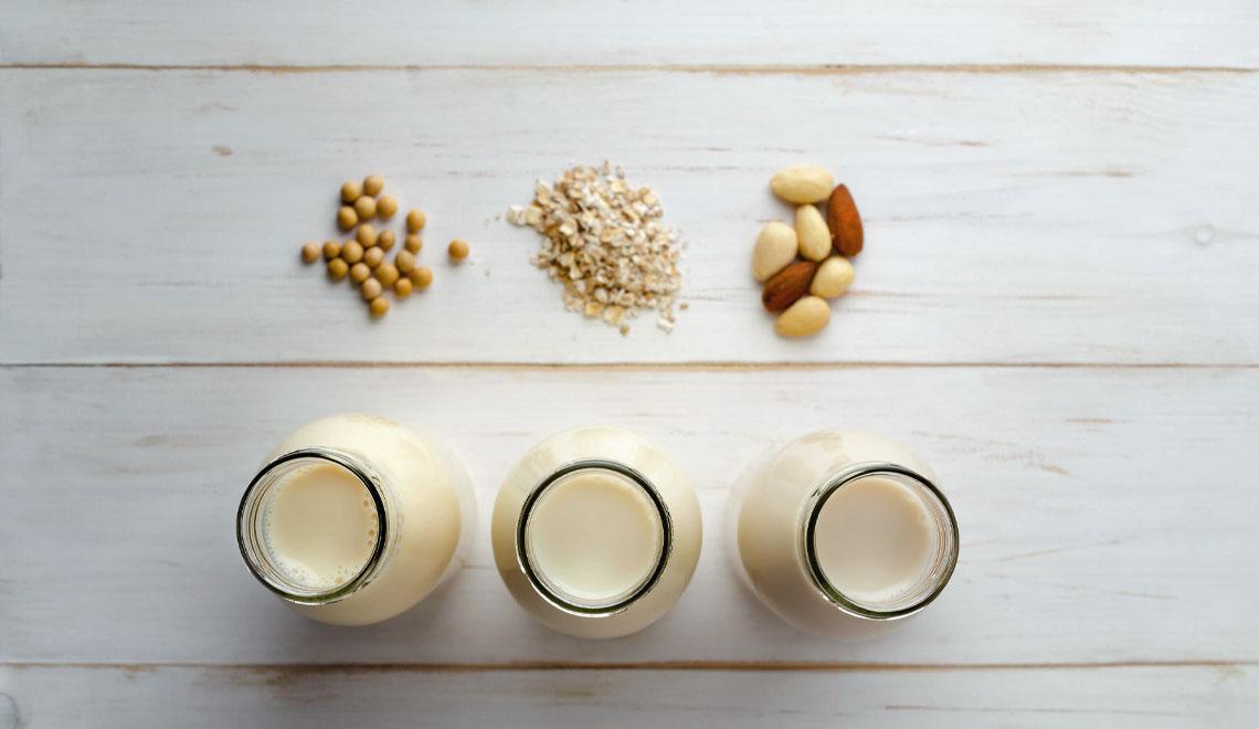 non-dairy milk options
