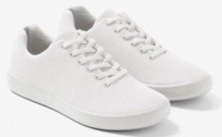 Atoms shoes white