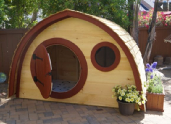 Hobbit holes at the Fair