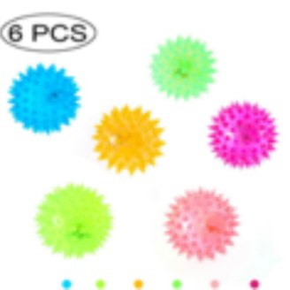 spiky flashing balls gifts for kids 2019