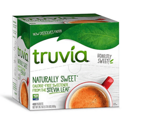 The truth about stevia Truvia