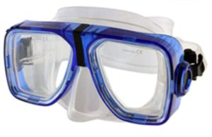 prescription swim mask