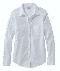 L L Bean washable shirts