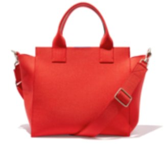Machine washable Rothys red bag