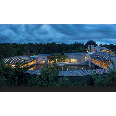 The Crystal Bridges Museum of American Art, Bentonville, Arkansas