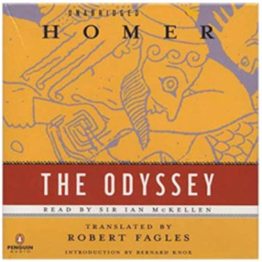 audiobook the odyssey