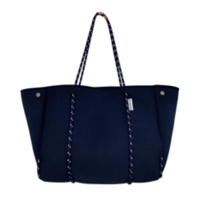 faux leather customizeable tote