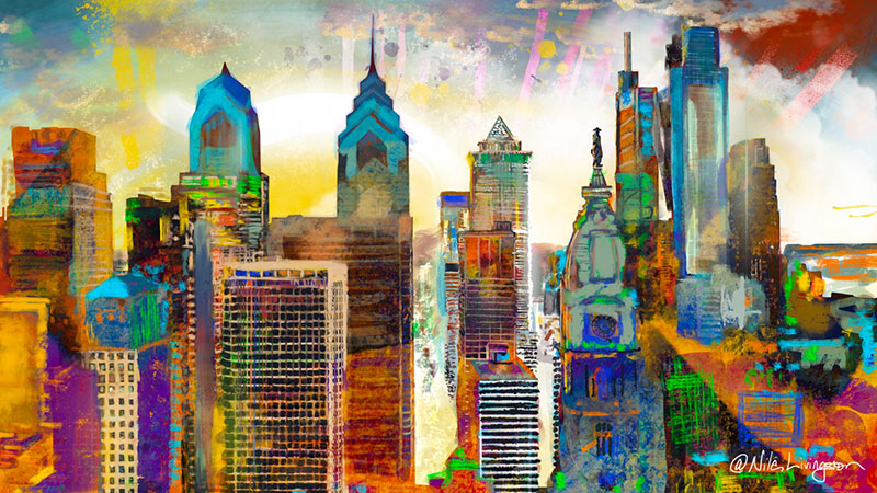 The Mural Arts Program in Philadelphia, Pennsylvania