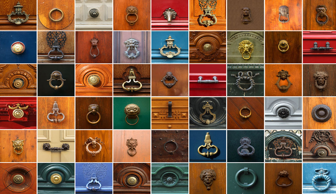 Door Knockers are the First Impression your Residence Makes.