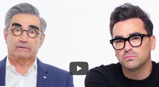 Dan Levy and Eugene Levy's discussion