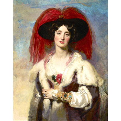 Lady Peel. Sir Thomas Lawrence