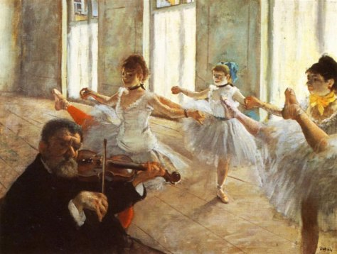 Hilaire- Germain-Edgar Degas, The Rehearsal,