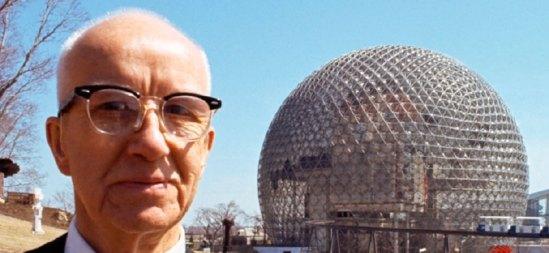 Buckminster Fuller records everything
