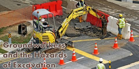Groundworkers Excavation