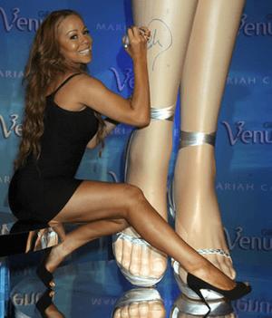 Mariah Carey Legs