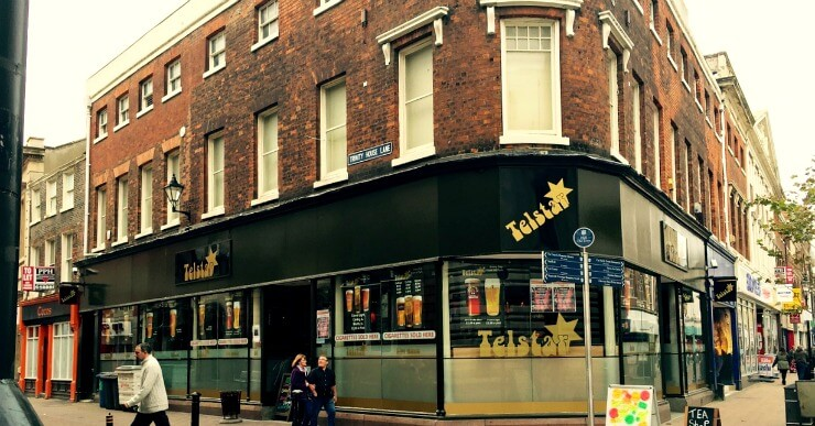 Mixed Commercial / Residential Property - flat on top of business