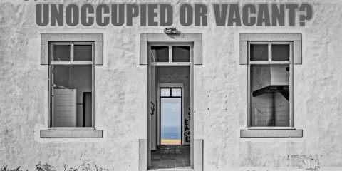 Unoccupied Vacant