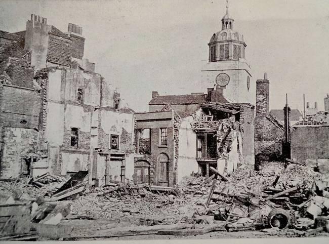 Oyster Street, Old Portsmouth April 1941